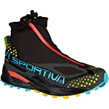 La Sportiva Crossover 2.0 GTX Waterproof Mountain Running Shoe for Women, Black / Malibu Blue, 42 M EU