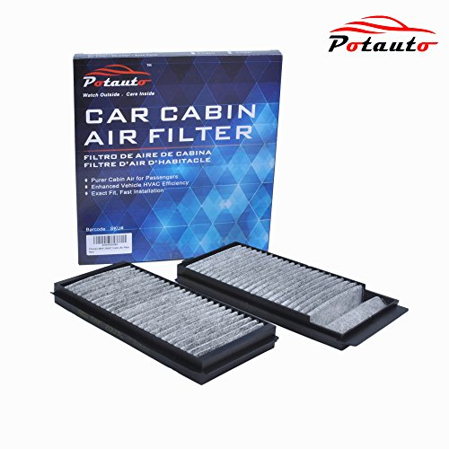 POTAUTO MAP 2009C Heavy Activated Carbon Car Cabin Air Filter Replacement compatible with MAZDA 3, 5
