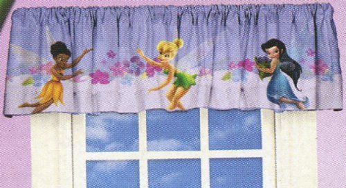 Disney Fairies Window Valance Tinkerbell Art of Magic Window Treatment ()