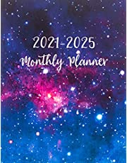 2021-2025 Monthly Planner: Galaxy Design, Yearly Planner Calendar   60 Calendar Monthly Book   5 Year Planner Organizer Book   Yearly Goal Planner   Schedule Notebook   Appointment Time Management   Event Planning Personal   Business Planner