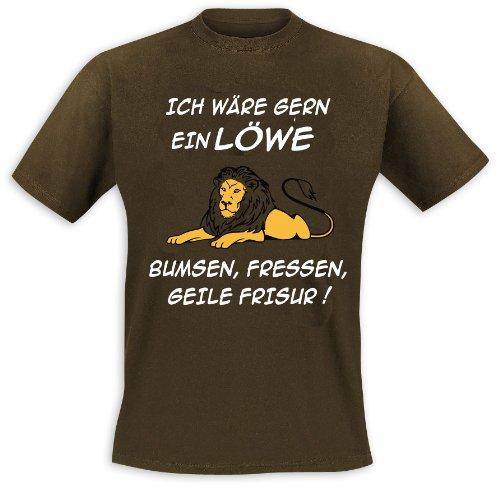 Ich wäre gern ein Löwe T-Shirt