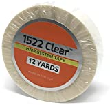 Clear 3/4'' x 12 Yard Roll Toupee Tape by 100% AUTHENTIC 3M Clear mfg. by Walker Tape, Co.
