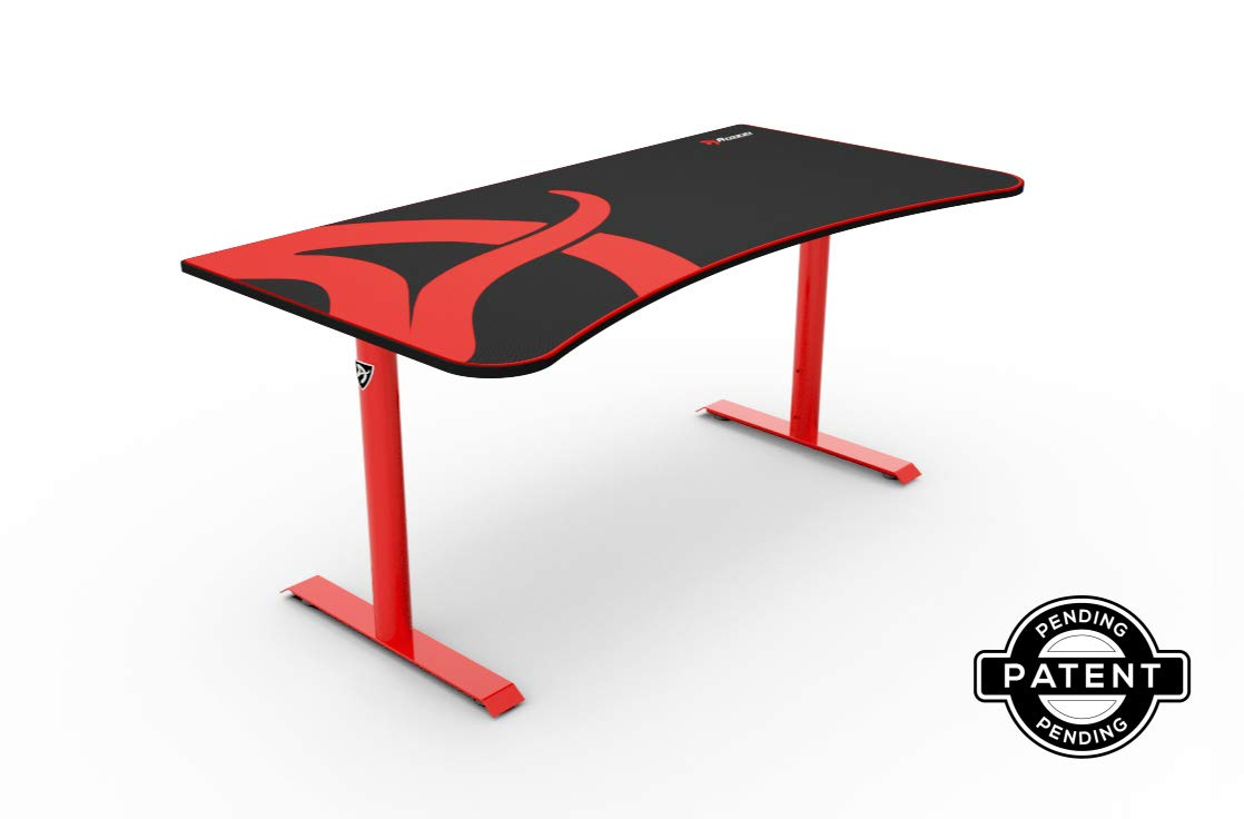 Arozzi Arena Gaming Desk - Red by Arozzi