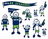 NFL Seattle Seahawks Large Family Decal Set