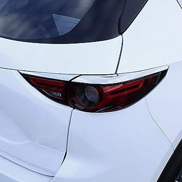 Kadore Car Rear Tail Light Cover Trim Bezel for Honda CRV CR-V 2015 2016 ABS Chrome 4PCS//Set