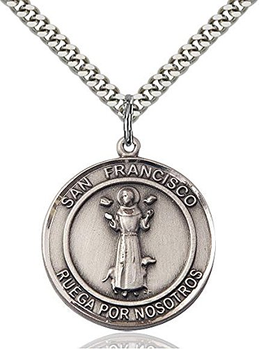 (San Francis Of Assisi Sterling Silver 1