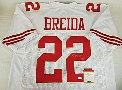 super popular 3a179 95b21 Autographed Matt Breida Jersey - TSE COA - Autographed NFL ...