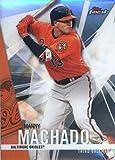 2017 Topps Finest #8 Manny Machado Baltimore Orioles Baseball Card