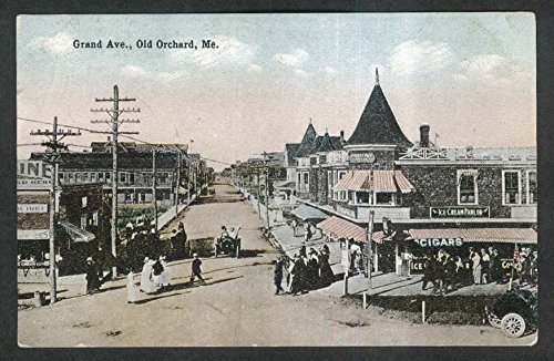 Forest Pier Hotel Ice Cream Parlor Grand Avenue Old Orchard ME postcard 1910s