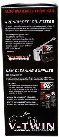 K/&N HD-1390 Motorrad Tauschluftfilter