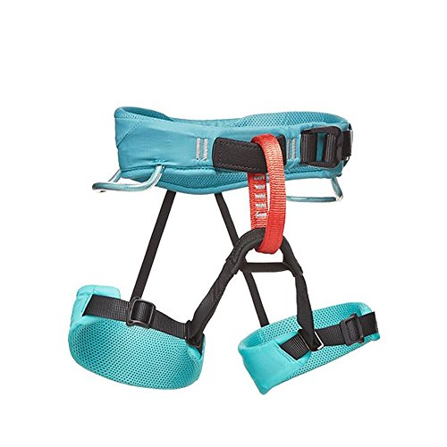 Black Diamond Kids' Momentum Climbing Harness Saltwater NO SIZE
