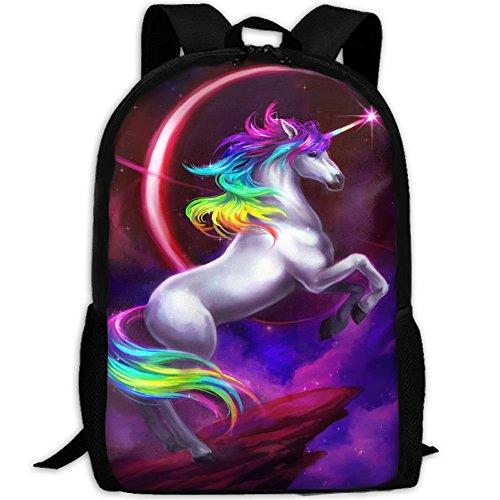 Rainbow Dream Travel Backpack, Water Resistant Durable College School