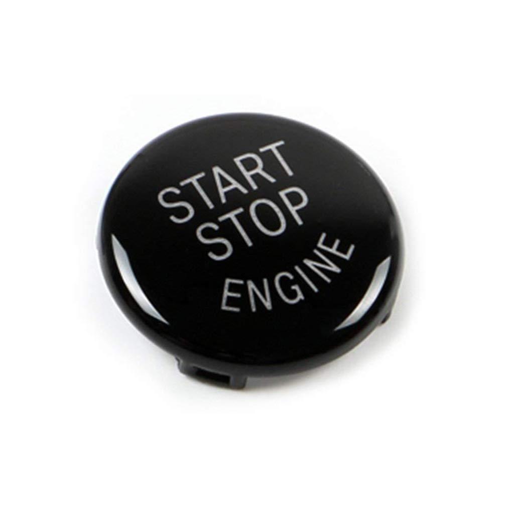 Topker ABS bot/ón del Interruptor del Motor de Coche Start Stop Cubierta para E60 E70 E71 E90 E92