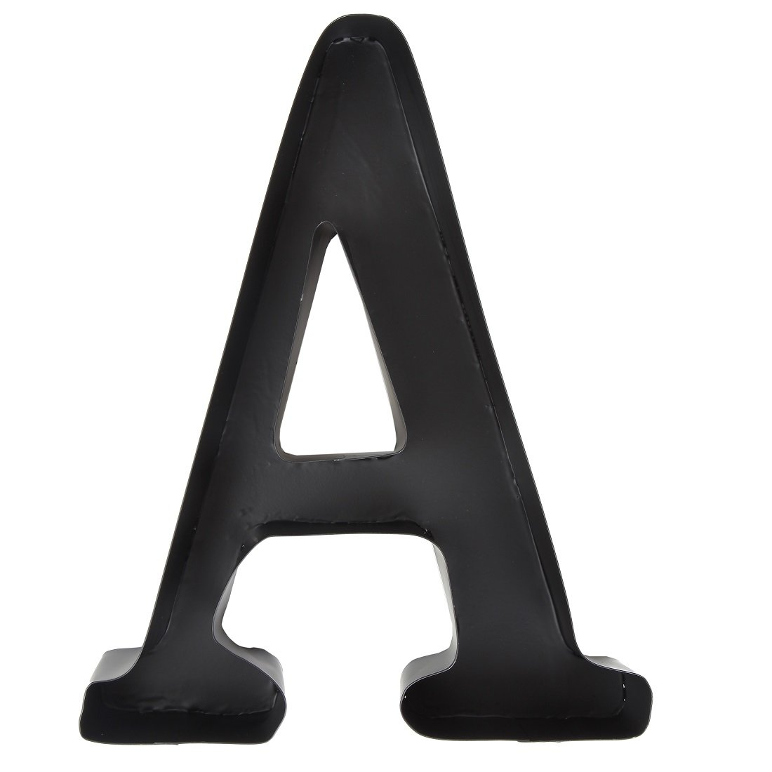 Home-X Personalized Letter ''A'' Metal Wall Wine Cork Holder