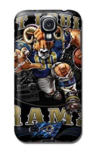 St. Louis Rams Glossy Samsung Galaxy S4 pc hard Protector Case Cover Nfl