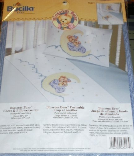 Blossom Bear Sheet & Pillowcase Set