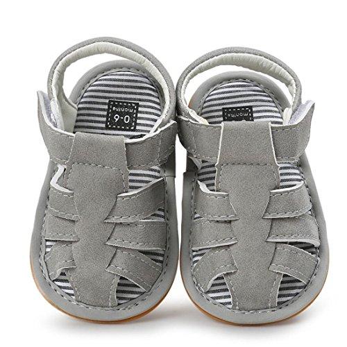 Babyschuhe Longra Baby jungen Sandalen Schuh Freizeitschuhe Sneaker Anti-Rutsch weiche Sohle Kleinkind krabbelschuhe