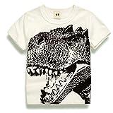 #8: 2Bunnies Little Boys Toddler Dinosaur T Rex Short Sleeve Tee T Shirt