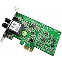 New Genuine Transition Network N-FXE-ST-02 Plug-in Card PCI Express x1 Low Profile 1 Port Fast Ethernet Card RMN69