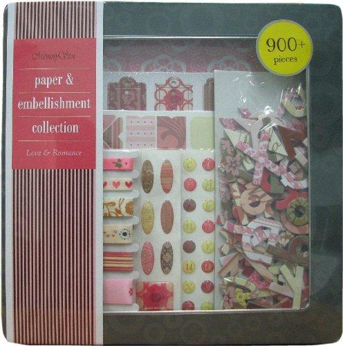 Embellishment Paper Kit (Paper & Embellishments Love &)