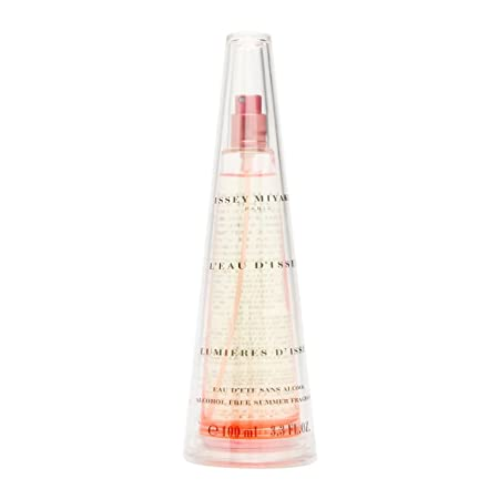 L eau d Issey Lumieres d Issey by Issey Miyake for Women 3.3 oz Eau d ete Alcohol-Free Summer Fragrance Spray 2002 Limited Edition