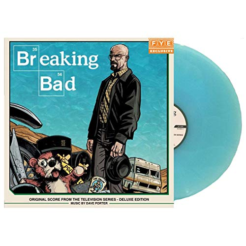 (Breaking Bad - Original Score From The Television Series (Exclusive Deluxe Edition 4LP vinyl Box Set) [vinyl] Dave Porter)