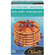 Pamela's Products Gluten Free Sprouted Pancake Mix, Non-Dairy, 12 Ounce