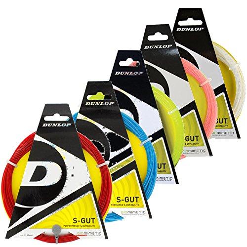 Dunlop Sports S Gut Tennis String Set (17G, ()