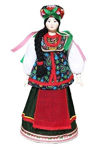 Ukrainian Porcelain Costume Doll Sophia National Fashion Ethnic Dress (Ukrainian National Costumes)