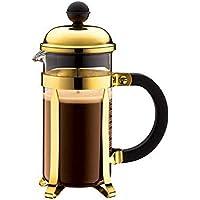 Bodum - 1923-17 - Chambord - Cafetera 3 Tazas - 0,35 l - Color Oro