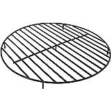 Cheap Sunnydaze Round Steel Outdoor Fire Pit Grate, 40-Inch