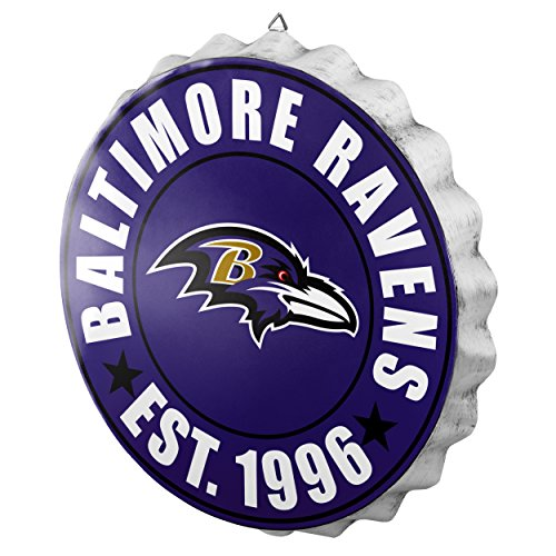 Baltimore Ravens 2016 Bottle Cap Wall Sign