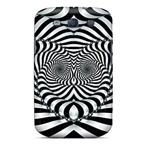 Tpu Shockproof/dirt-proof Illusion Cover Case For Galaxy(s3)