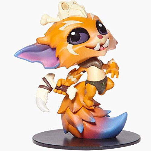 Myths And Legends Costume Ideas (LOL League of Legends limited edition Gnar model figure 10CM No Box)