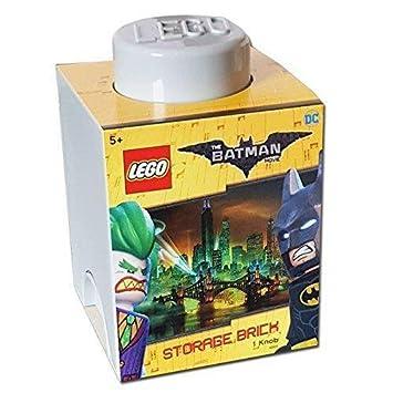 LEGO Batman L4001BMY DC Comics Batman Storage Brick, Grey