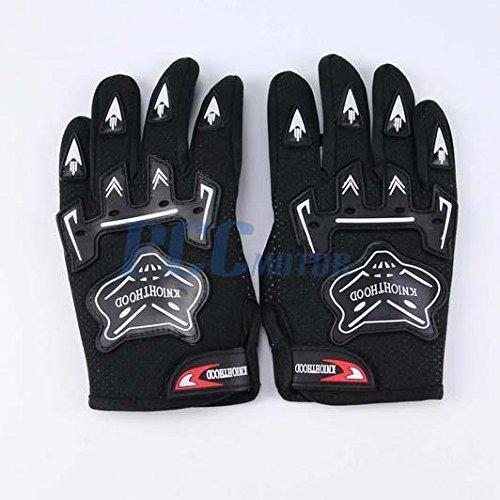 2Z BLACK Youth Kids MX Motocross Off-Road Racing ATV Dirt Pit Bike Gloves Cycling GL01 MEDIUM -  PCC, PCC GL01K MEDIUM