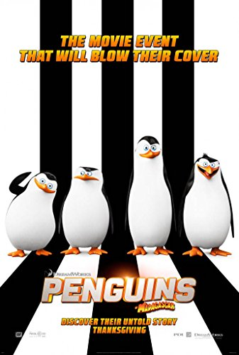 PENGUINS OF MADAGASCAR MOVIE POSTER 2 Sided ORIGINAL 27x40 TOM MCGRATH (Madagascar Movie Poster)