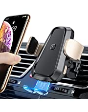 TORRAS Wireless Car Charger Mount, Auto Clamping Qi Fast Wireless Charger and Air Vent Phone Holder Compatible with iPhone Xs Max/XR/Xs/8/8 Plus, Samsung Galaxy S10e/S10/S10 Plus/S9/S8+/Note10/10+