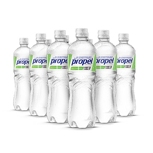 Propel Water Kiwi Strawberry Flavored Water With Electrolytes, Vitamins and No Sugar 16.9 Ounces (Pack of 12)