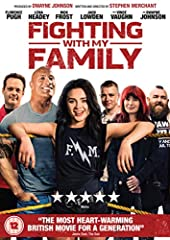 Based on a true story, FIGHTING WITH MY FAMILY follows reformed gangster Ricky, wife Julia, daughter Paige and son Zak as they make a living wrestling together in tiny venues. When Paige and Zak get the opportunity to try out for WWE, the fam...