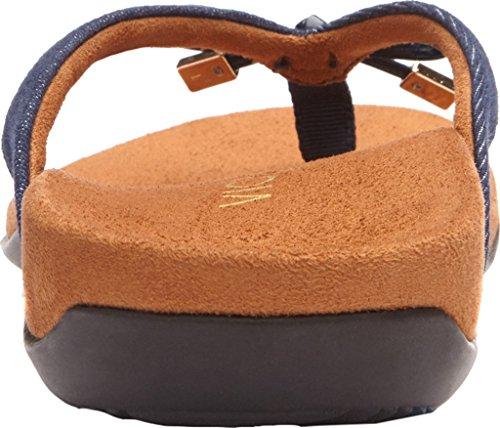 free shipping amazon how much Vionic Women's Bella II Toepost Sandal Denim 6zHxmuTqQk