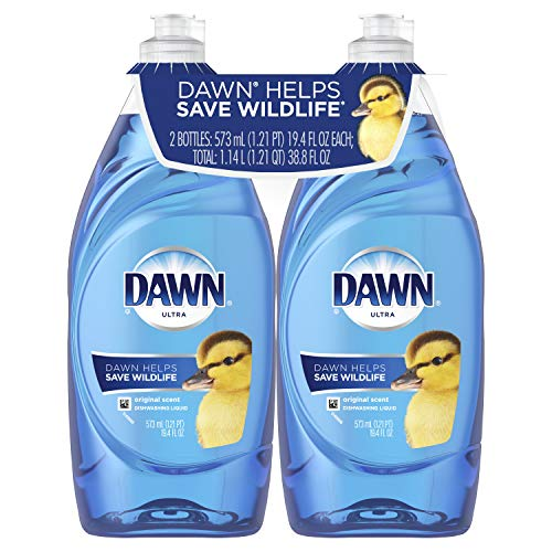Tissue Bubble Fish - Dawn Ultra Dishwashing Liquid, Original, 2 Count (Packaging May Vary)