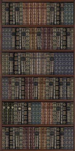 JP Londres Md4A166Vintage libro estantería Doctor Watson biblioteca totalmente extraíble prepasted pared Mural en...
