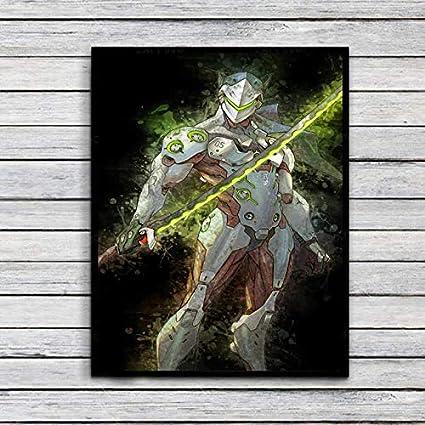 Amazon.com: Dragon Ninja Genji Video Game Digital Unique ...