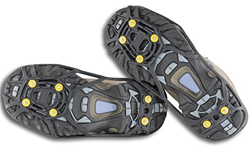 BlizeTec Traction Cleats for Snow and Ice; Anti Slip Shoes Grips (2 Sets)