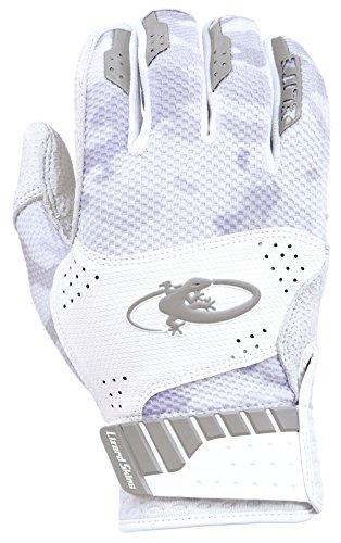 Lizard Skins Komodo Elite Adult Batting Gloves (Phantom Camo, Adult (Lizard Skins Lizard)
