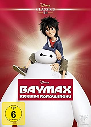 Cover Baymax - Anders cool! Burschenkino