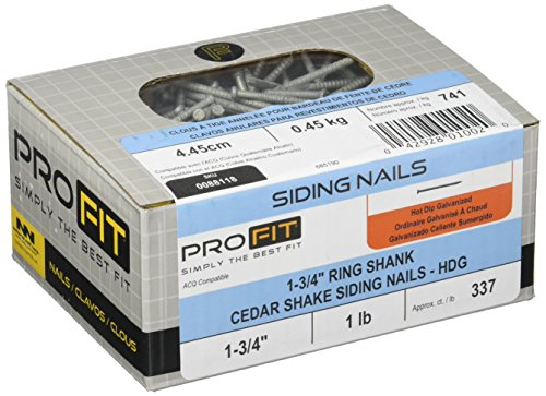 NATIONAL NAIL 88118 LB 5D RS Ced Shake Nail