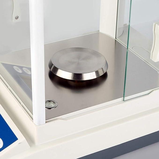 LETAMG Balanza Analítica De Laboratorio Escala De Análisis Sensible De Alta Precisión 200 G / 0.1 MG-Multifuncional Laboratorio Química Digital Electrónica Enseñanza: Amazon.es: Deportes y aire libre