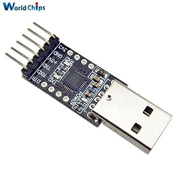 3,3V//5V Typ A USB to TTL Konverter UART 5 Pin Serial STC Chip CP2102 Module Ardu